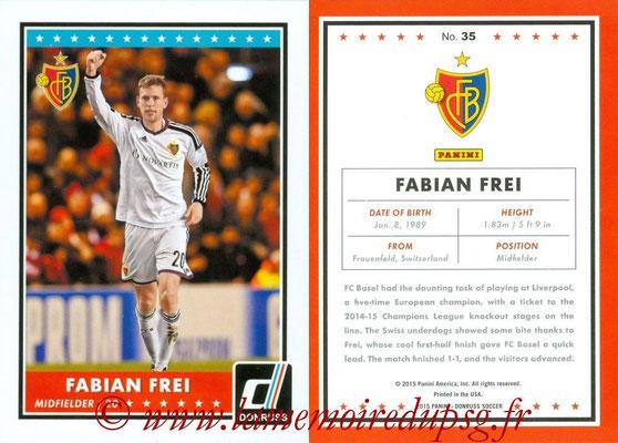 2015 - Panini Donruss Soccer - N° 035 - Faban FREI (FC Basel 1893)