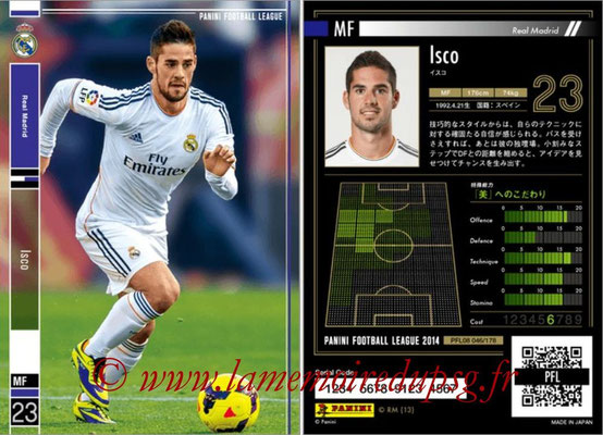 Panini Football League 2014 - PFL08 - N° 046 - ISCO (Real Madrid)