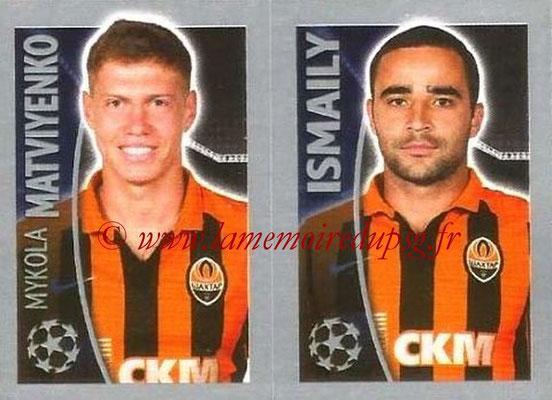 2015-16 - Topps UEFA Champions League Stickers - N° 060 - Mykola MATVIYENKO + ISMAILY (FC Shakhtar Donetsk)