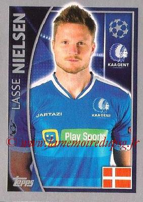 2015-16 - Topps UEFA Champions League Stickers - N° 539 - Lasse NIELSEN (KAA Gent)
