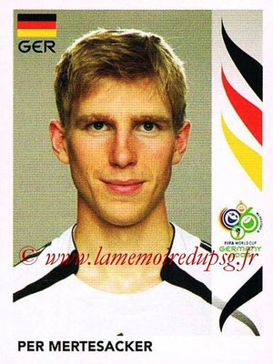 2006 - Panini FIFA World Cup Germany Stickers - N° 023 - Per METERSACKER (Allemangne)