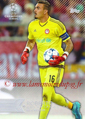 2015-16 - Topps UEFA Champions League Showcase Soccer - N° 145 - ROBERTO (Olympiacos FC)