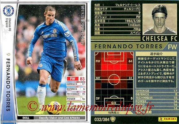 2012-13 - WCCF - N° 032 - Fernando TORRES (Chelsea FC)