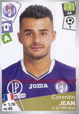 2017-18 - Panini Ligue 1 Stickers - N° 486 - Corentin JEAN (Toulouse)
