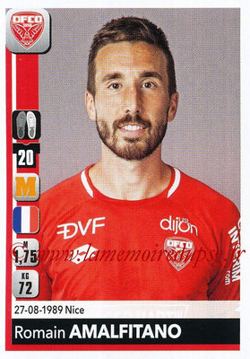 2018-19 - Panini Ligue 1 Stickers - N° 111 - Romain AMALFITANO (Dijon)