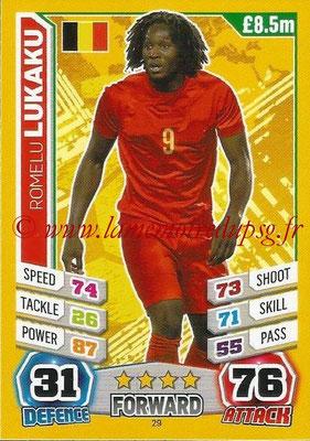 Topps Match Attax England 2014 - N° 029 - Romelu LUKAKU (Belgique)
