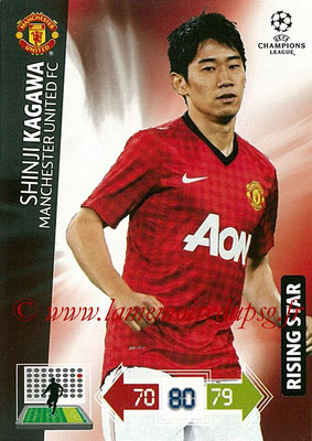 2012-13 - Adrenalyn XL champions League N° 147 - Shinji KAGAWA (Manchester United FC) (Rising Star)