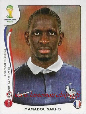 N° 381 - Mamadou SAKHO (2006-Jan 2014, PSG > 2014, France)