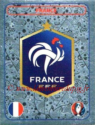 Panini Euro 2016 Stickers - N° 010 - Logo France