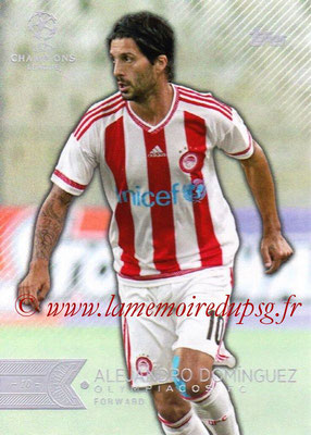 2015-16 - Topps UEFA Champions League Showcase Soccer - N° 146 - Alejandro DOMINGUEZ (Olympiacos FC)