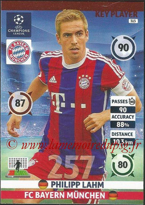 2014-15 - Adrenalyn XL champions League N° 313 - Philipp LAHM (FC Bayern Munchen) (Key Player)