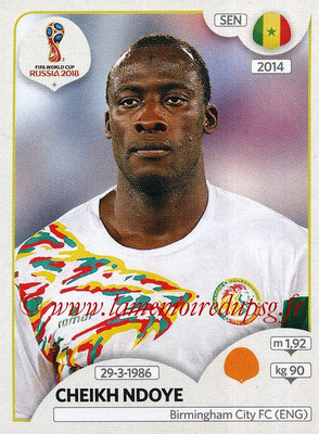 2018 - Panini FIFA World Cup Russia Stickers - N° 623 - Cheikh NDOYE (Senegal)