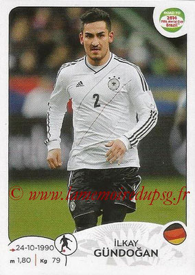2014 - Panini Road to FIFA World Cup Brazil Stickers - N° 047 - Ilkay GUNDOGAN (Allemagne)