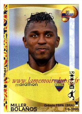 Panini Copa America Centenario USA 2016 Stickers - N° 155 - Miller BOLANOS (Equateur)