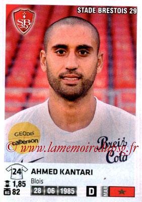 N° 081 - Ahmed KANTARI (2001-06, PSG B > 2012-13, Brest)
