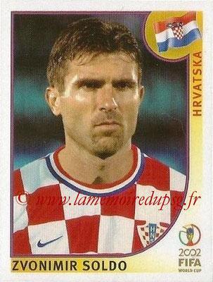 2002 - Panini FIFA World Cup Stickers - N° 483 - Znovimir SOLDO (Croatie)
