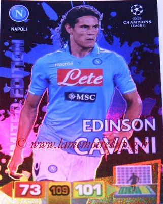 2011-12 - Panini Champions League Cards - N° LE36 - Edinson CAVANI (Naples) (Limited Edition)