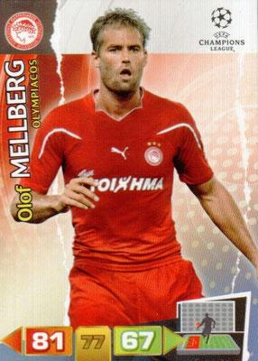 2011-12 - Panini Champions League Cards - N° 185 - Olof MELLBERG (Olympiacos)