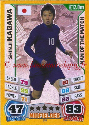 Topps Match Attax England 2014 - N° 258 - Shinji KAGAWA (Japon) (Man Of The Match)