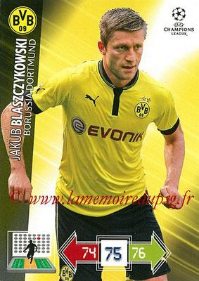 2012-13 - Adrenalyn XL champions League N° 075 - Jakub BLASZCZYKOWSKI (Borussia Dortmund)