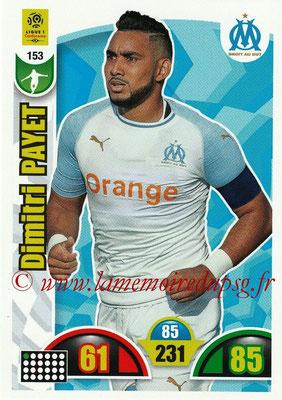 2018-19 - Panini Adrenalyn XL Ligue 1 - N° 153 - Dimitri PAYET (Marseille)