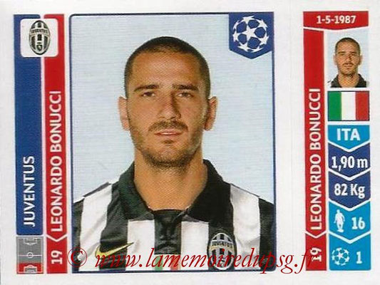 2014-15 - Panini Champions League N° 067 - Leonardo BONUCCI (Juventus Turin)
