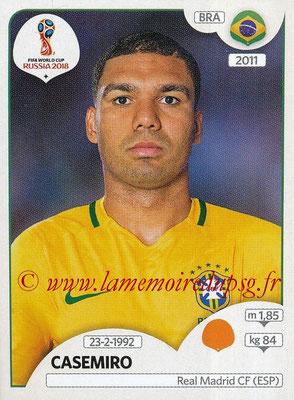 2018 - Panini FIFA World Cup Russia Stickers - N° 364 - CASEMIRO (Bresil)