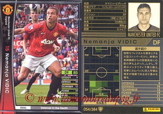2012-13 - WCCF - N° 054 - Nemanja VIDIC (Manchester United FC)