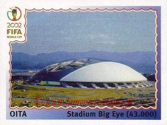 2002 - Panini FIFA World Cup Stickers - N° 020 - Stade Oita (Stadium Big Eye)