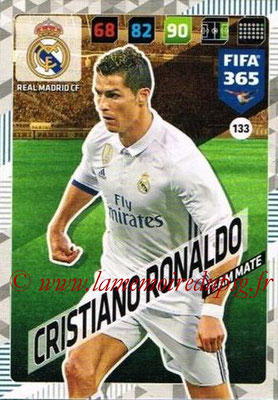 2017-18 - Panini FIFA 365 Cards - N° 133 - Cristiano RONALDO (Real Madrid CF)