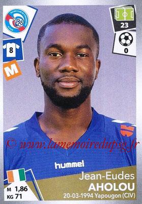 2017-18 - Panini Ligue 1 Stickers - N° 450 - Jean-Eudes AHOLOU (Strasbourg)