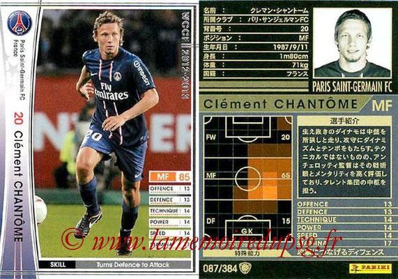N° 087 - Clément CHANTOME
