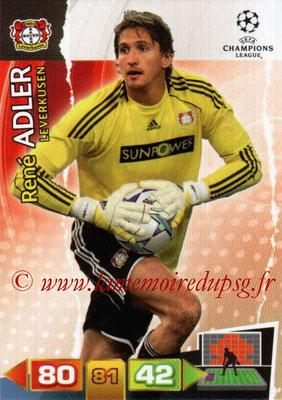 2011-12 - Panini Champions League Cards - N° 046 - René ADLER (Bayer 04 Leverkusen)