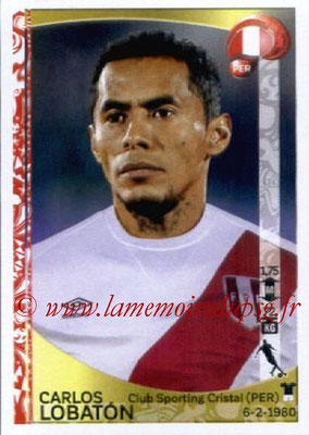 Panini Copa America Centenario USA 2016 Stickers - N° 196 - Carlos LOBATON (Perou)