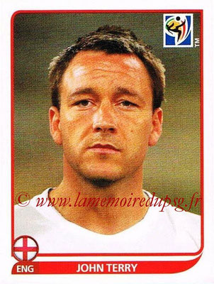 2010 - Panini FIFA World Cup South Africa Stickers - N° 185 - John-TERRY (Angleterre)