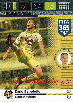 2015-16 - Panini Adrenalyn XL FIFA 365 - N° 180 - Dario BENEDETTO (Club América) (One to Watch)