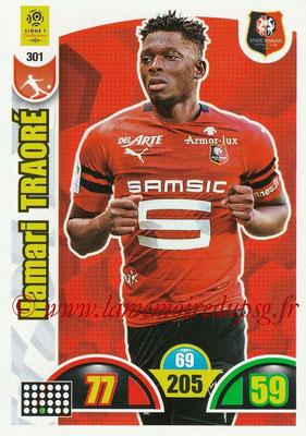 2018-19 - Panini Adrenalyn XL Ligue 1 - N° 301 - Hamari TRAORE (Rennes)