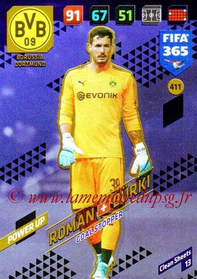 2017-18 - Panini FIFA 365 Cards - N° 411 - Roman BÜRKI (Borussia Dortmund) (Goal Stopper)
