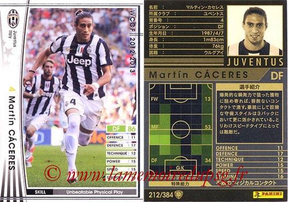 2012-13 - WCCF - N° 212 - Martin CACERES (Juventus FC)