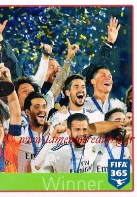 2015-16 - Panini FIFA 365 Stickers - N° 032 - Real Madrid CF 2 (Winner) (FIFA Club World Cup)