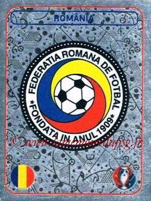 Panini Euro 2016 Stickers - N° 012 - Logo Roumanie