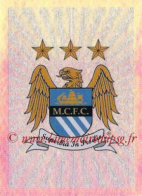 2015-16 - Topps UEFA Champions League Stickers - N° 248 - Logo Manchester City FC