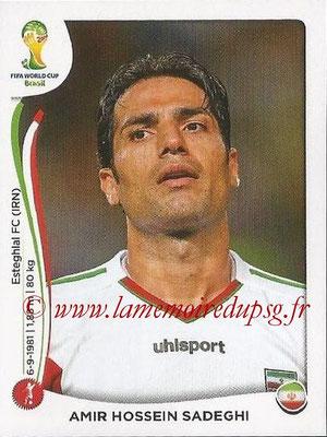 2014 - Panini FIFA World Cup Brazil Stickers - N° 459 - Amir Hossein SADEGHI (Iran)