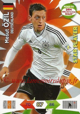 2014 - Panini Road to FIFA World Cup Brazil Adrenalyn XL - N° 054 - Mesut OZIL (Allemagne) (Star Player)