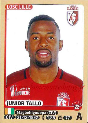 2015-16 - Panini Ligue 1 Stickers - N° 167 - Junior TALLO (Lille OSC)