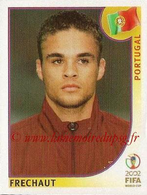 2002 - Panini FIFA World Cup Stickers - N° 298 - FRECHAUT (Portugal)