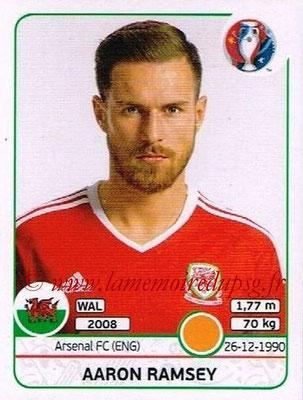 Panini Euro 2016 Stickers - N° 194 - Aaron RAMSEY (Pays de Galles)