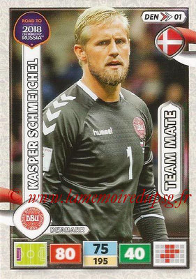 2018 - Panini Road to FIFA World Cup Russia Adrenalyn XL - N° DEN01 - Kasper SCHMEICHEL (Danemark)