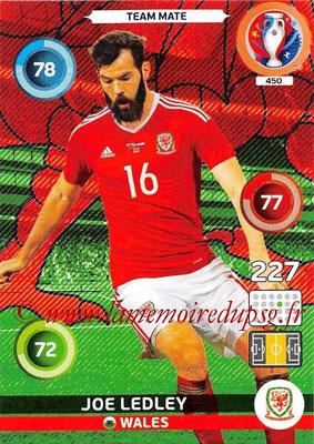 Panini Euro 2016 Cards - N° 450 - Joe LEDLEY (Pays de Galles)