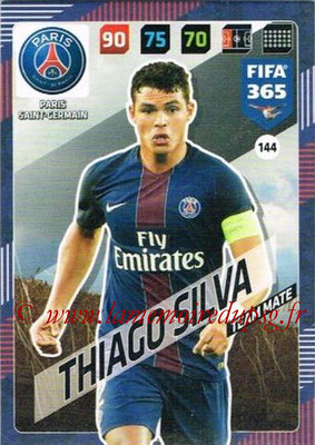 2017-18 - Panini FIFA 365 Cards - N° 144 - Thiago SILVA (Paris Saint-Germain)